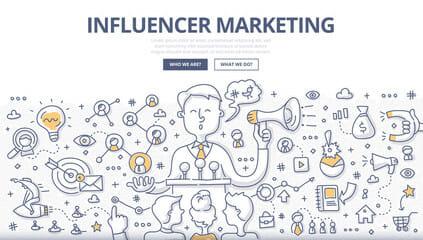التسويق عبر المؤثرين